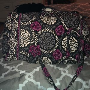 Large Vera Bradley Travel Duffle Bag NWOT!